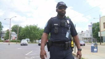 Man Fulfills Dream of Becoming Officer at 58