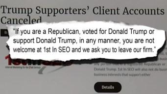 Albuquerque Business Refuse Pro-Trump Client