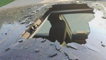 Dry Shampoo Explodes in Car