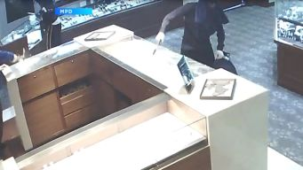 Frantic Smash & Grab Caught On Camera