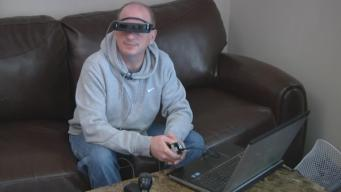 New Technology Helps Blind Man See
