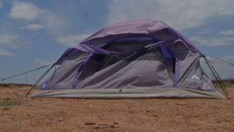 Teen Boy Living In Tent As Punishment
