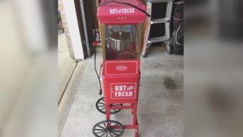 Popcorn Machine Stolen From Little Girl
