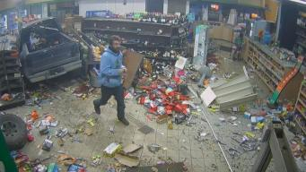 Caught on Camera: Truck Slams Into Gas Station