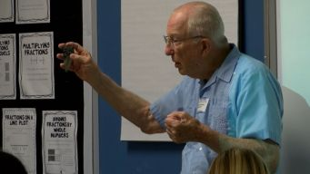 91-Year-Old Volunteers Time to Teach