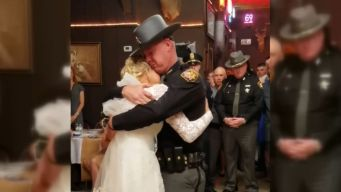 'Fathers in Blue' Surprise Bride
