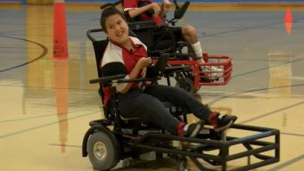 Boy Shows Classmates How He Powers Past Disability