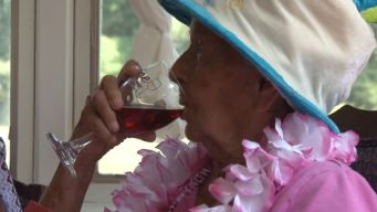 100-Year-Old Says Secret to Longevity Is Wine