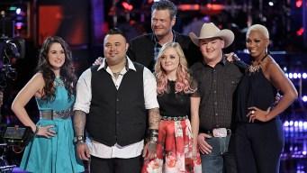 """""""The Voice"""": Blake Picks His Finals-Bound Team"""