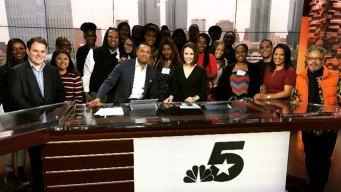 NBC 5 & Telemundo 39 Employees Mentor College Students