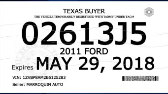 TxDMV Rolls Out New Buyer Tags With Additional Security