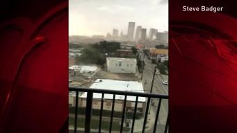 Deep Ellum Building Storm Damage