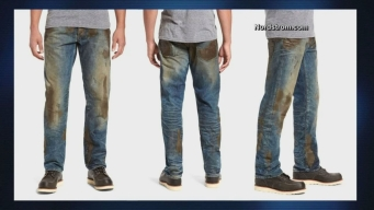 Nordstrom Selling 'Fake Mud' Jeans