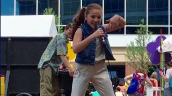 North Texan Maya Delgado in Macy's Parade