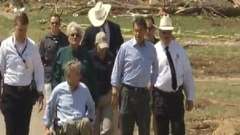 Perry Describes Incomprehensible Damage in Granbury