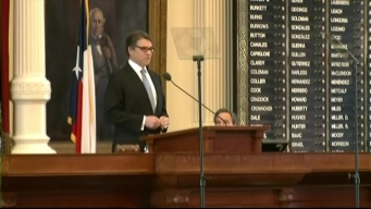 Gov. Perry Delievers Farewell Speech Thursday