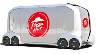 Pizza Hut, Toyota Working on Autonomous Delivery