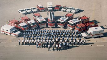 Six Plano Firefighters Mark Milestone