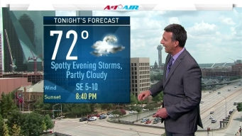 Storms Tuesday, Temps to Heat Up This Week