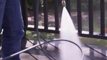 Fall Clean-Up Made Easy With a Pressure Washer
