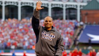 Pudge Rodriguez Joins Rangers Broadcast Team