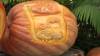 Mike the Farmer's Pumpkin Carvings