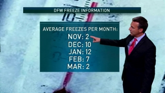 Everything You Wanted to Know About DFW Freezes