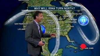 What Will Push Hurricane Irma North Toward Florida?