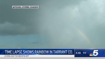 The Trick to Seeing a Rainbow After a Rain Shower