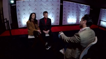 Raw Interview with Randy Travis and His Wife