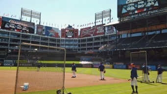 It's Time: Rangers Ready for Opening Day