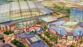Plans Announced for New Retractable-Roof Rangers Stadium
