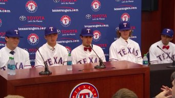 Rangers Sign Top 5 Draft Picks, Including 3 Prep Pitchers