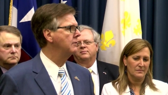 Raw Video: Lt. Gov. Dan Patrick Speaks at End of Special Session