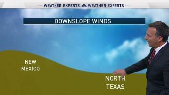 Rick Mitchell Explains Downslope Winds