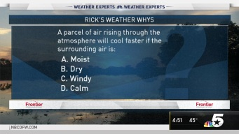 Weather Quiz: Rising Air