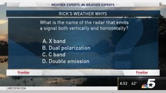 Weather Quiz: Radar