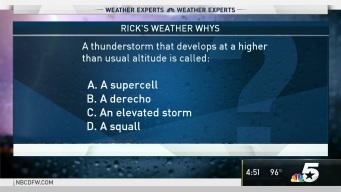 Weather Quiz: What Do You Call a Higher Altitude Thunderstorm?