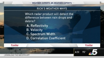 Weather Quiz: Difference in Radar