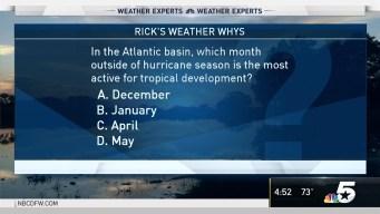 Weather Quiz: Tropical Development