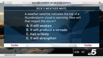 Weather Quiz: Warming Thunderstorm Cloud