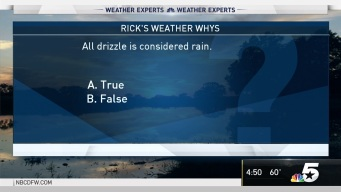 Weather Quiz: Is All Drizzle Considered Rain?