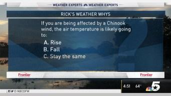 Weather Quiz: Chinook Wind
