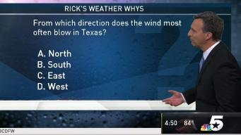 Weather Quiz: Which Direction Does the Wind Most Often Blow in Texas?
