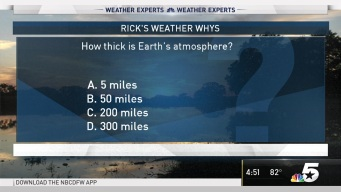 Weather Quiz: Earth's Atmosphere