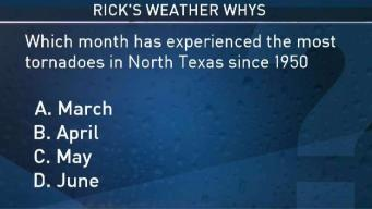 Weather Quiz: What Month Has Experienced Most Tornadoes Since 1950?