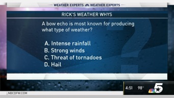 Weather Quiz: A Bow Echo is Most Known for Producing What Type of Weather?