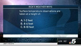 Weather Quiz: Surface Temperature