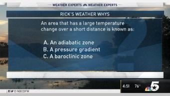 Weather Quiz: Temperature Change