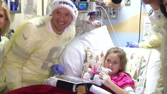 Tony Romo Visits His Biggest Fan in the Hospital